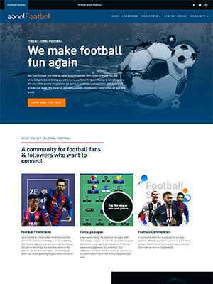 Zonalfootball website